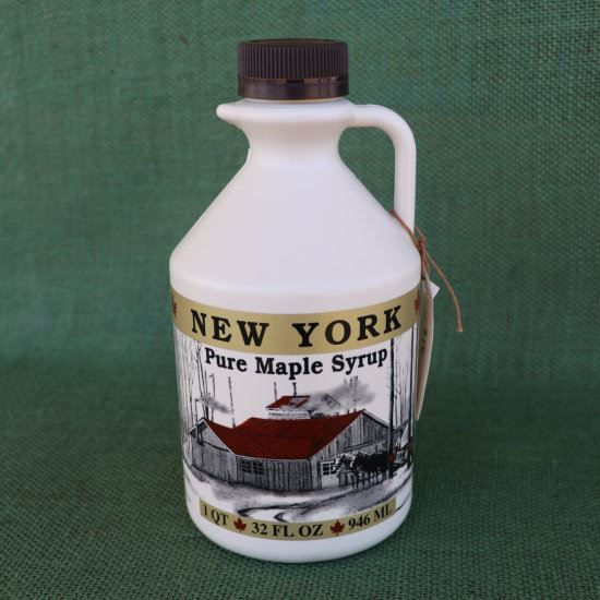 real maple syrup - quart