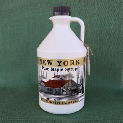 real maple syrup - half gallon