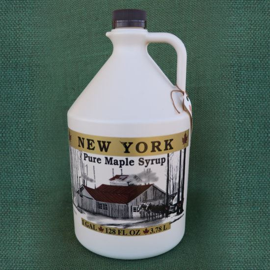 real maple syrup - gallon